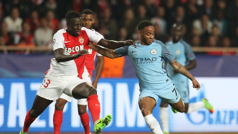 Image result for mendy v man city monaco champions league