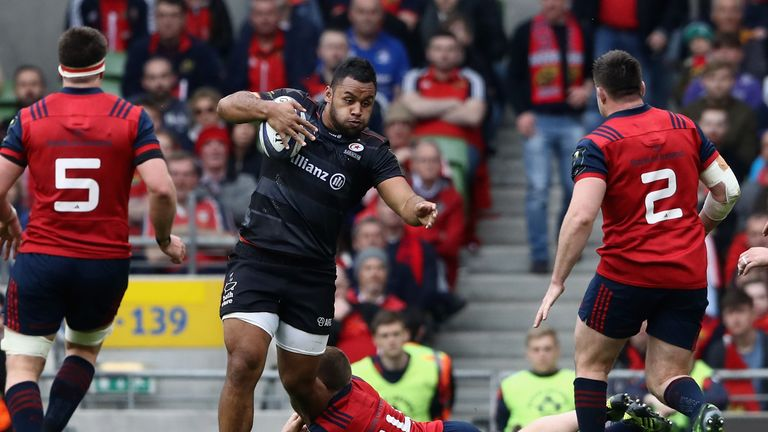 Billy Vunipola won his battle against CJ Stander on Saturday