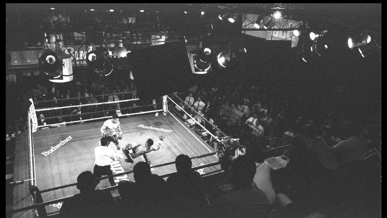 The Blue Horizon was once honoured as the best boxing venue in the world