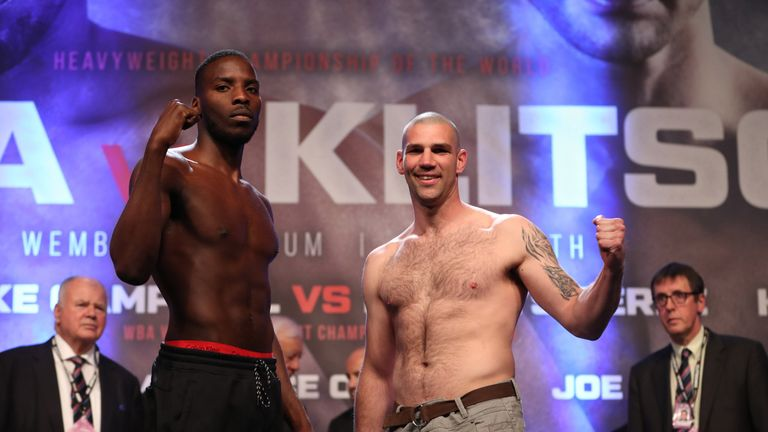 Lawrence Okolie and Russell Henshaw have rescheduled last month's cancelled bout