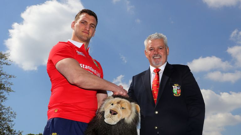 Warburton was confirmed as Warren Gatland's captain on Wednesday