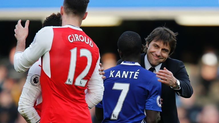 Chelsea boss Antonio Conte has come to rely on N'Golo Kante