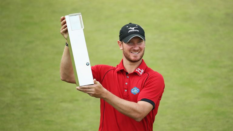 Wood's win last year was his third European Tour title