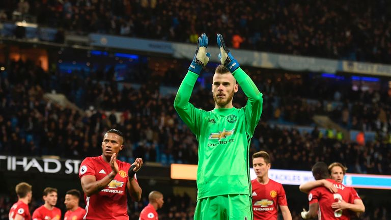 De Gea has kept four clean sheets in his last five United appearances