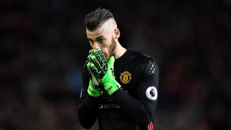 Could David de Gea be on his way out of Old Trafford?