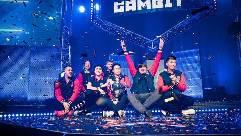 Gambit's first noticeable rise to form was the shock victory at DreamHack Winter 2016 (credit DreamHack/Adela Sznajder)