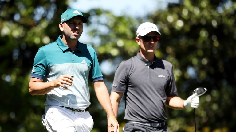 Sergio Garcia edged out Justin Rose to win his first major at the 74th attempt