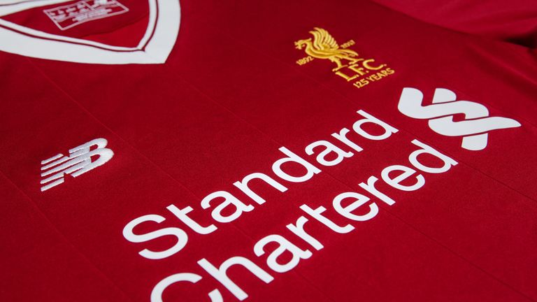 Liverpool's new home kit for 2017/18 season
