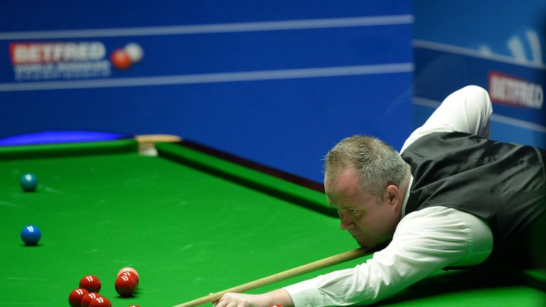John Higgins put himself into control against Kyren Wilson with a dominant performance in Tuesday's evening session