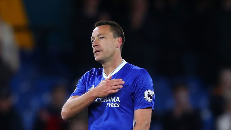 Conte says Terry is leaving Chelsea in a bid to obtain regular football again