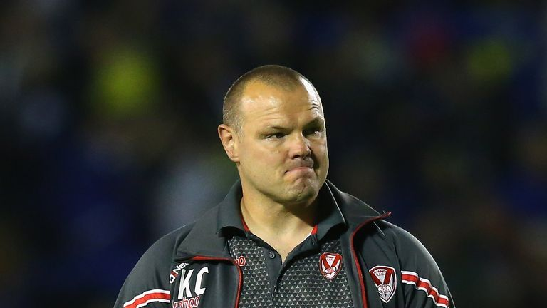 Keiron Cunningham has made a surprise return to the game as head of rugby at relegation-threatened Leigh