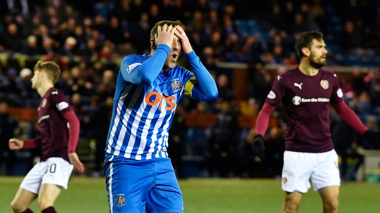 Kris Boyd went close on two occasions during the second half
