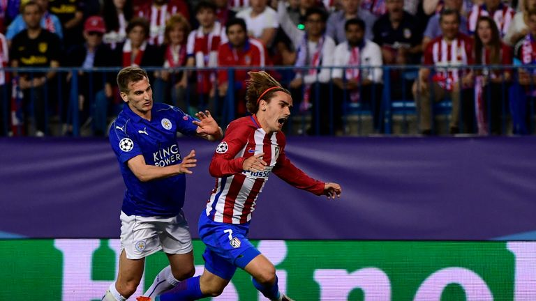 Antoine Griezmann scores controversial penalty to defeat Leicester