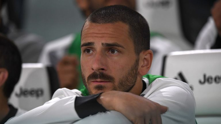 Juventus defender Leonardo Bonucci arrives to seal AC Milan switch