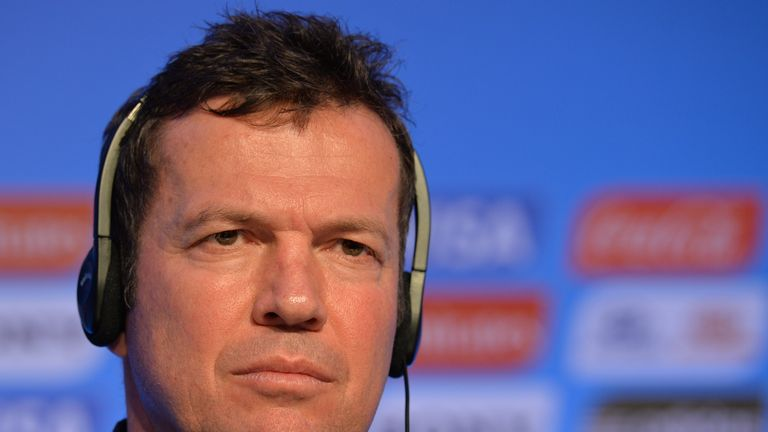 Lothar Matthaus won the World Cup with Germany in 1990