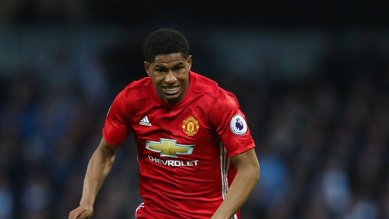 Marcus Rashford has grown both physically and as a player, according to Jose Mourinho