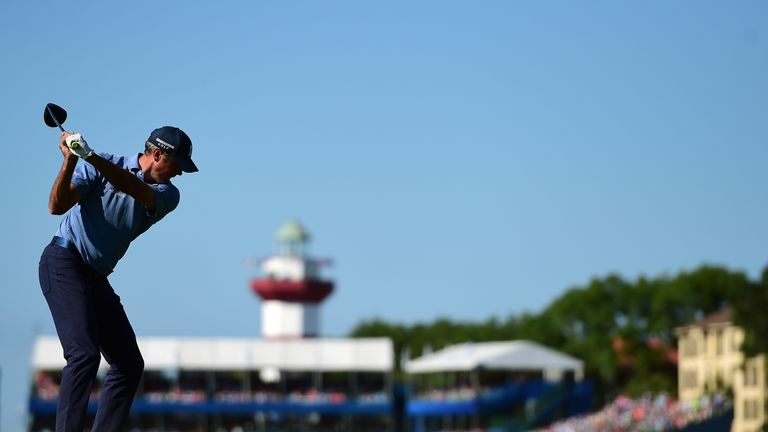 Donald, DeLaet use hole-outs to share RBC Heritage lead