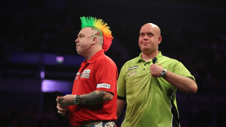 Wright and Van Gerwen played out a thriller