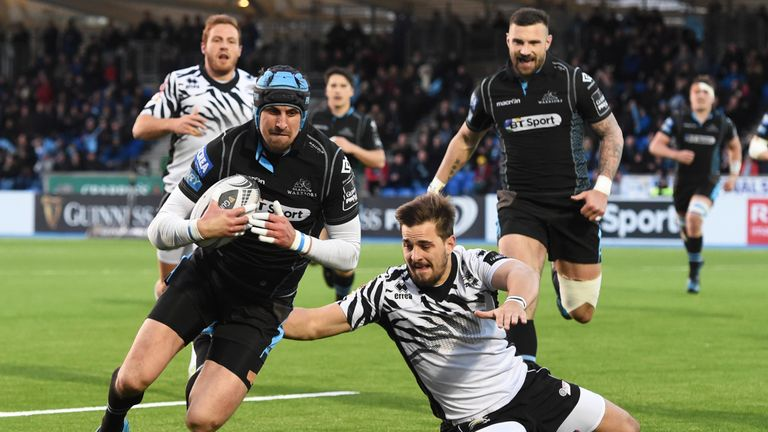 Glasgow finished sixth in last season's PRO12 and reached the Champions Cup quarter-finals