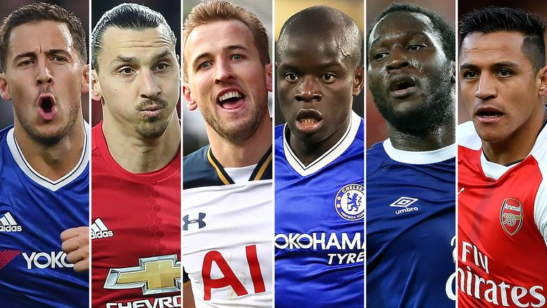 Image result for Hazard, Kante, Zlatan among nominees for PFA player of the year award