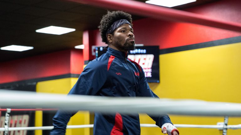 Shawn Porter is putting the finishing touches on his preparations for his clash with Andre Berto (Credit:PBC)