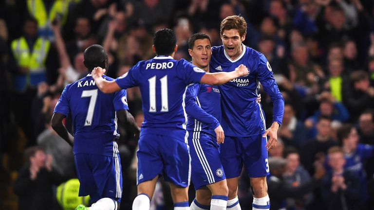 Chelsea beat Manchester City 2-1 on Wednesday