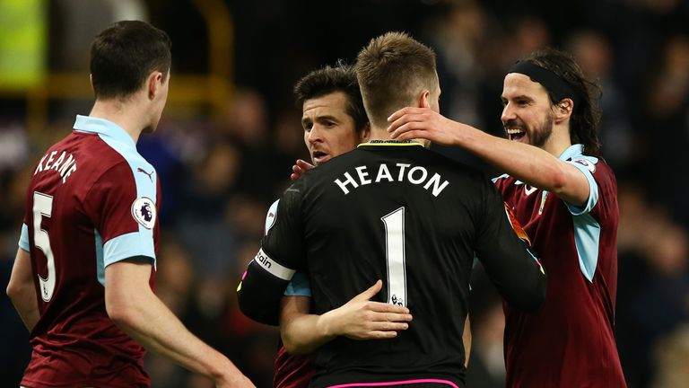 Tom Heaton has had a fine season with Burnley