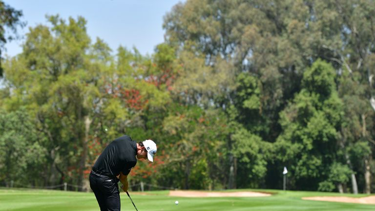 Renato Paratore sits two strokes off the pace