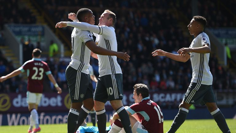 Martial and Rooney both impressed on their return to the starting XI
