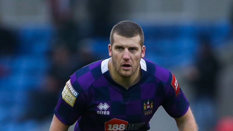 Wigan prop Tony Clubb has struggled with back pain this season