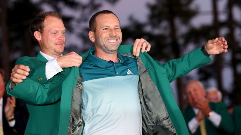 Patience and commitment were key components in Garcia's Masters triumph