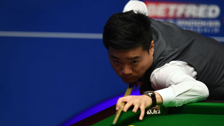 Ding Junhui is level at 12-12 with Mark Selby going into Saturday's action