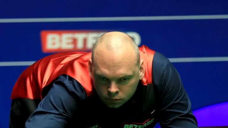 Stuart Bingham will face Kyren Wilson in the second round after victory over Peter Ebdon at the World Championship