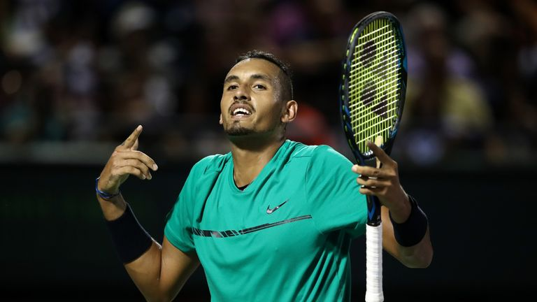 Nick Kyrgios is finding the form of his life