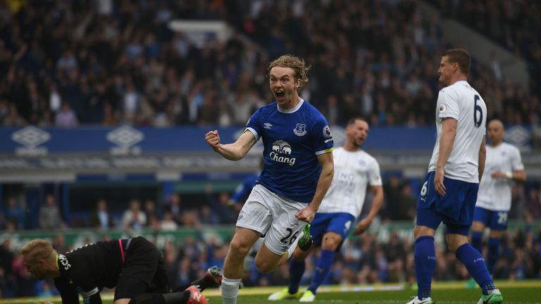 Tom Davies is a recent graduate from the academy to the Everton first team