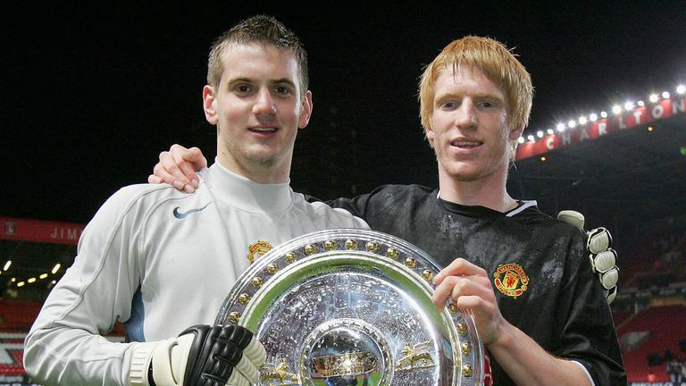 Goalkeeper Heaton was at United for 13 years