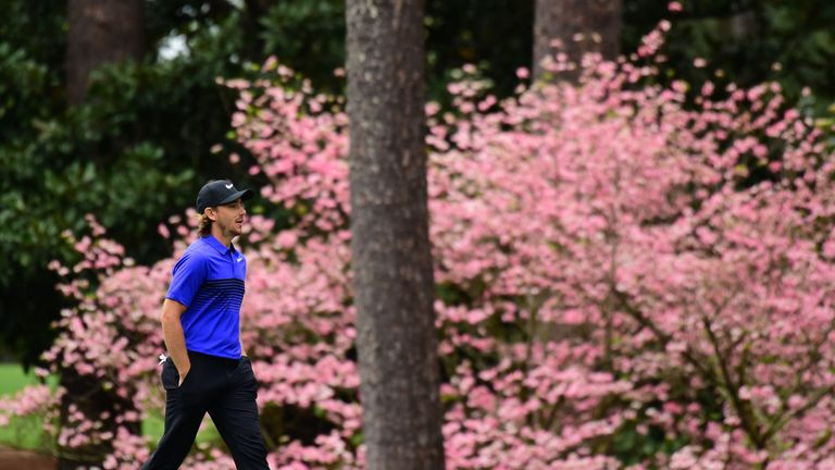 Good weather offers golfers full day of practice ahead of Masters
