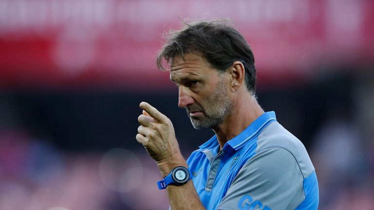 Tony Adams could not prevent relegated Granada from losing 2-1 at home to Espanyol