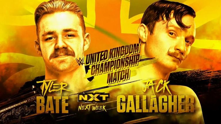 Bate vs Gallagher will be one of the highlights of next week's NXT