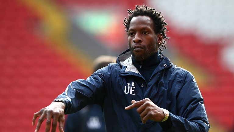 Tottenham coach Ugo Ehiogu in hospital after collapsing