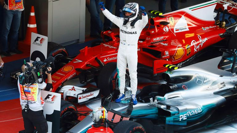 The First Win Is the Hardest, Lauda Tells Bottas