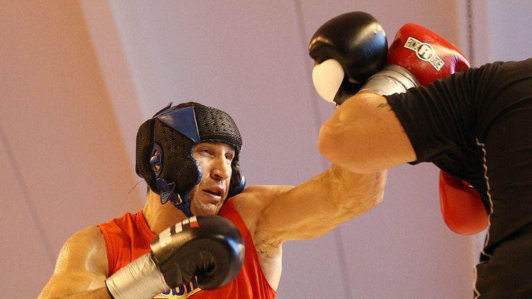 "Wladimir Klitschko gave ""110 per cent"" in sparring, says Deontay Wilder"