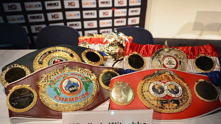 Klitschko's belt collection was an inspiration to Deontay Wilder
