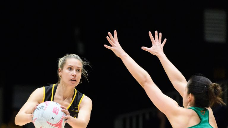 Tamsin Greenway saw her Wasps Netball side seal an emphatic win on Saturday