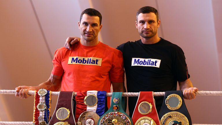 Vitali Klitschko hopes his younger brother Wladimir can regain two world titles with a victory over Anthony Joshua