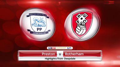 Preston 1-1 Rotherham