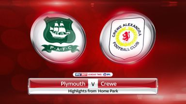 Plymouth 2-1 Crewe