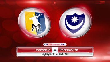 Mansfield 0-1 Portsmouth