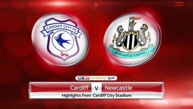 Cardiff 0 - 2 Newcastle