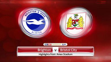 Brighton 0-1 Bristol City